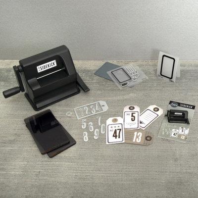 Sizzix Sidekick Starter Kit - Black TH 664175 Tim Holtz