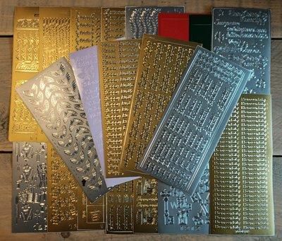 Stickerset Diversen - 20 stuks assortiment