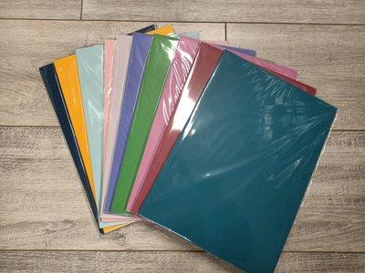PAK009 - A4 - 10 pakjes a 10 vel - Structuur - Assortiment kleuren