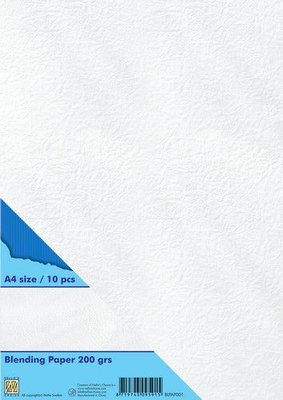Nellie's Choice Blending papier 200 gr wit BLPAP001 A4