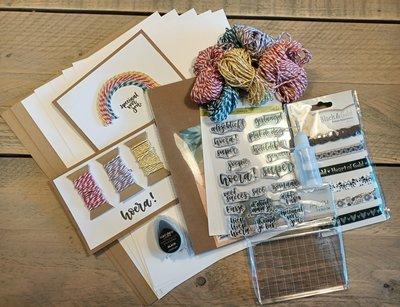 Knutselpakker nr. 5 - Creatief met Bakers Twine