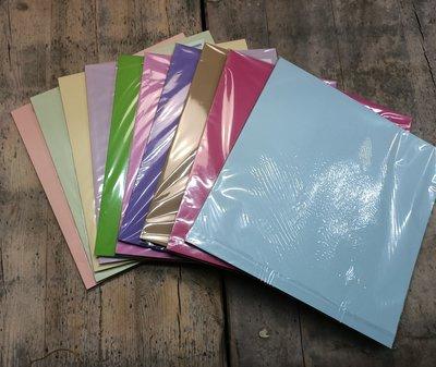 PAK014 - Karton 30,5x30,5cm - 10 pakjes a 25 vel - Assortiment kleuren