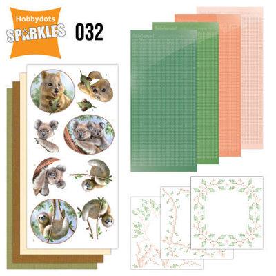 SPDO032 Sparkles Set 32 - Amy Design - Wild Animals - Outback