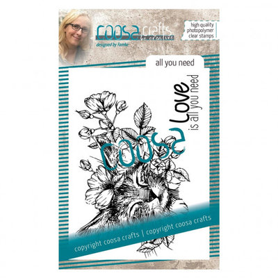 COOSA Crafts Clear stempel #18 Fusion - all you need COC-102