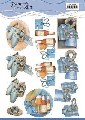 CD11473 3D cutting sheet - Jeanine's Art - Gifts for Men
