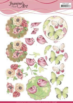 CD11296 3D cutting sheet - Jeanine's Art - Wonderful Nature