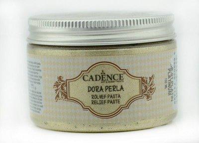 Cadence Dora Perla Met. Relief Pasta Platinum 01 083 0001 0150  150 ml