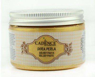 Cadence Dora Perla Met. Relief Pasta Goud 01 083 0002 0150  150 ml