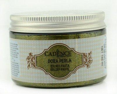 Cadence Dora Perla Met. Relief Pasta Malachiet groen 01 083 0006 0150  150 ml