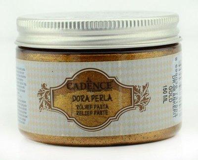 Cadence Dora Perla Met. Relief Pasta Ankerit Gold 01 083 0008 0150  150 ml