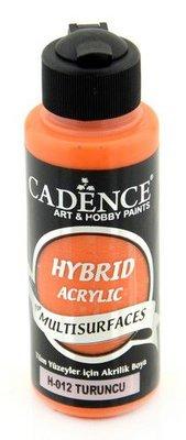 Cadence Hybride acrylverf (semi mat) Oranje 01 001 0012 0120  120 ml