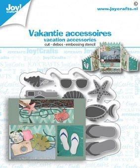 Joy! Crafts Snij-debos-embosstansmal - Vakantie accessoires 6002/1476 60x65 mm