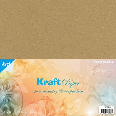 Joy! Crafts Kraft papier 30,5x30,5cm 20vl 8089/0217 220gr