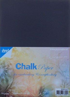 Joy! Crafts Krijtpapier Chalkpaper A4 25vl 8089/0207 250gr