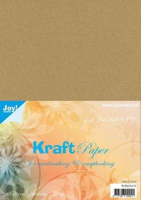 Joy! Crafts Kraft papier A4 25vl 8089/0216 220gr