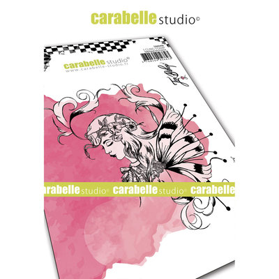 SA60496 Carabelle Studio • Cling stamp A6 sketch fairy