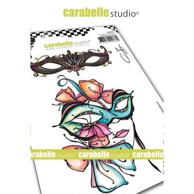 SA60491 Carabelle Studio • Cling stamp A6 masques venitiens
