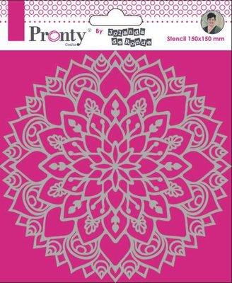 Pronty Mask Mandala 3 15x15 470.770.037 by Jolanda