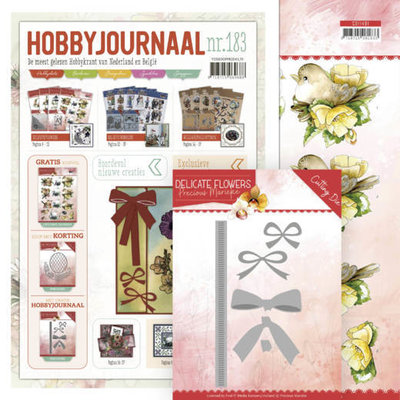 SETHJ183 Hobbyjournaal 183 SET Inclusief PM10180 en knipvel