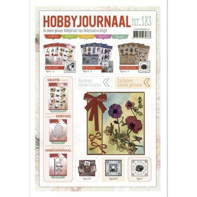 HJ183 Hobbyjournaal 183 met gratis knipvel