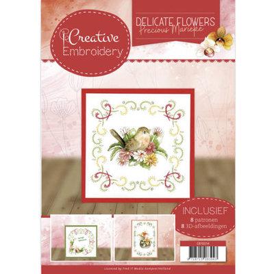 CB10014 Creative Embroidery 14 Precious Marieke Delicate Flowers