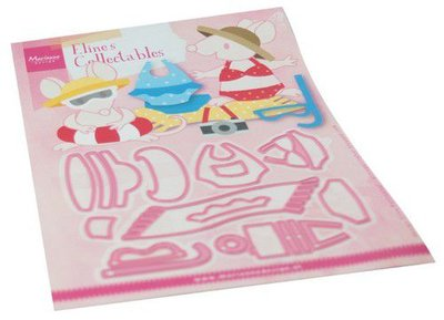 Marianne Design Collectable Eline's Beach Outfits COL1483 150 x 210 mm