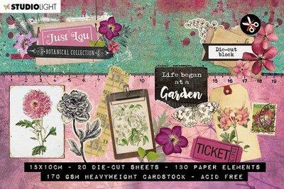 Studio Light Stansblok A6 Just Lou Botanical Collection nr.02 A6STANSBLOKJL02