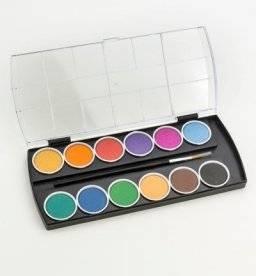 Joy! Crafts Aquarel verf 12 Kleuren+Penseel 6200/0240