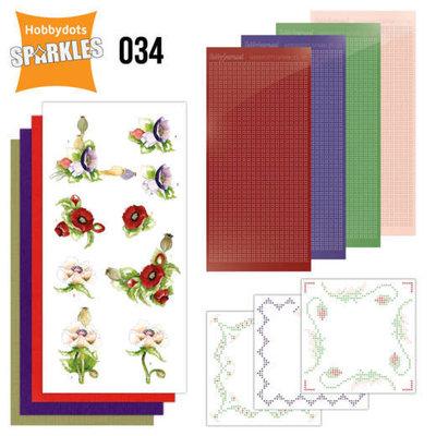 Sparkles Set 34 - Precious Marieke - Delicate Flowers - Poppy
