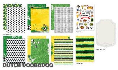 Dutch Doobadoo Voetbal Set 472.100.003 (06-20)