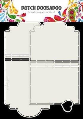 Dutch Doobadoo Card Art A4 Mini album set 470.713.799 (06-20)