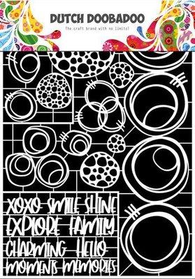 Dutch Doobadoo Dutch Paper Art Cirkels A4 472.948.052 (06-20)