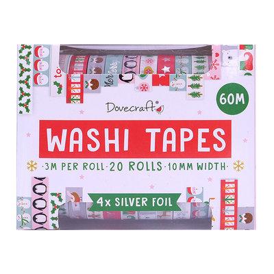 Dovecraft Washi Tape Set Modern (20pcs) (DCWTB053X19)