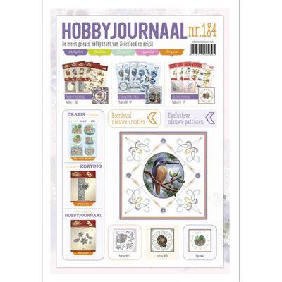 HJ184 Hobbyjournaal 184 met gratis uitdrukvel