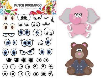 Dutch Doobadoo Dutch Sticker Art A5 Ogen 491.200.006