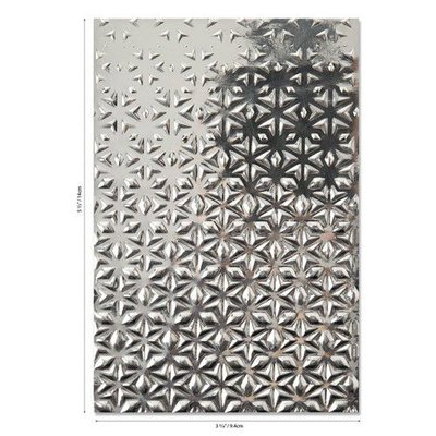 Sizzix 3-D Textured Impressions Emb. Folder Star Fall 664508 Georgie Evans