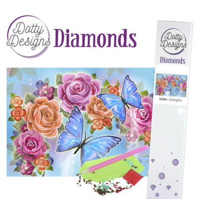 DDD1009 Dotty Designs Diamonds - Butterfly