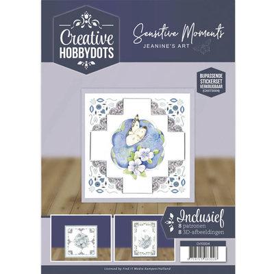 CH10004 Creative Hobbydots 4 - Jeanine's Art - Sensitive Momentsï¾