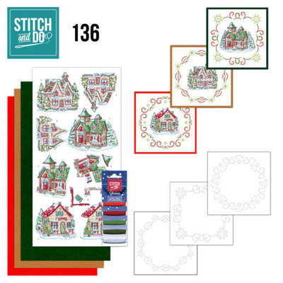 STDO136 Stitch and Do 136 - Yvonne Creations - Villages