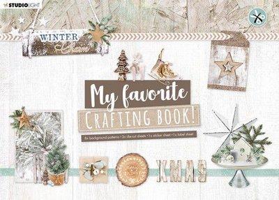 Studio Light Crafting Book MF Winter Charm Elements nr.97 STANSBLOKSL97 210x297mm (08-20)
