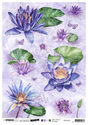 Studio Light Rice Paper A4 vel Jenine's Mindful Art 5.0 nr.33 RICEJMA33 (08-20)