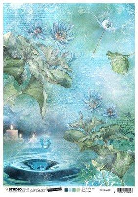 Studio Light Rice Paper A4 vel Jenine's Mindful Art 5.0 nr.30 RICEJMA30 (08-20)