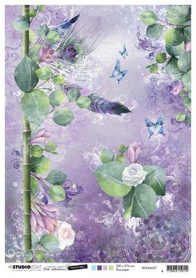 Studio Light Rice Paper A4 vel Jenine's Mindful Art 5.0 nr.27 RICEJMA27 (08-20)