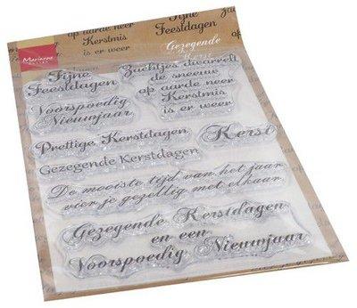 Marianne Design Clear Stamps Gezegende Kerst (NL) CS1068 110x150mm   (08-20)
