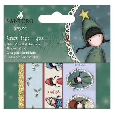 GOR 462900 Craft Tape (4pk) - Santoro