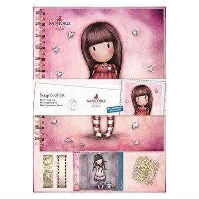 GOR 101109 Colour Me Scrap Book Set - Santoro