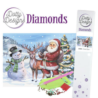 DDD1019 Dotty Designs Diamonds - Santaclaus