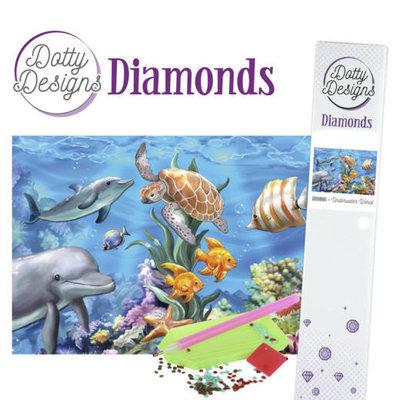 DDD1016 Dotty Designs Diamonds - Underwater World
