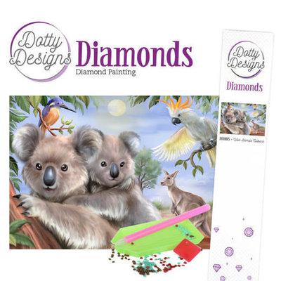 DDD1015 Dotty Designs Diamonds - Wild Animals Outback