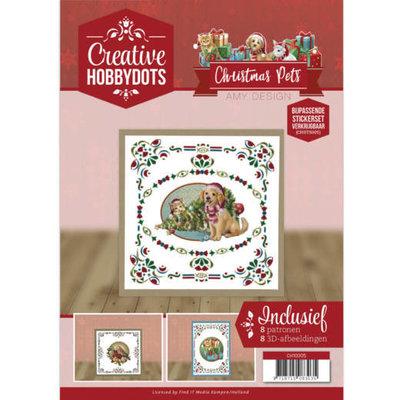 CH10005 Creative Hobbydots 5 - Amy Design - Christmas Pets